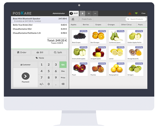 POS accounting system
